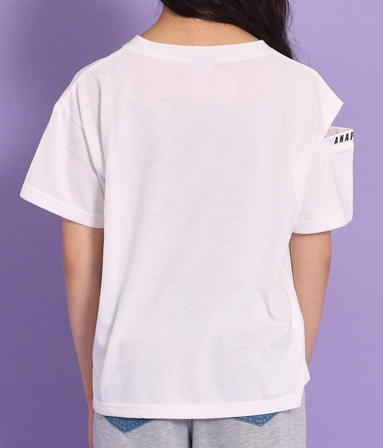 肩開きロゴトップス(トップス/Tシャツ)   ANAP GiRL