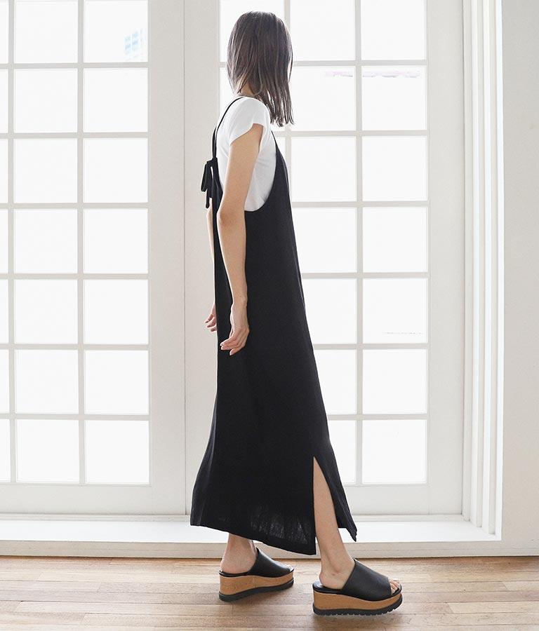 リネンライクマキシワンピ(ワンピース・ドレス/ロングワンピ) | ANAP