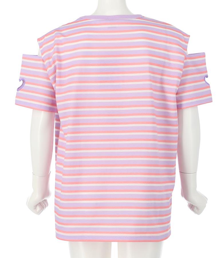 肩あきボーダービッグTシャツ(トップス/Tシャツ) | ANAP KIDS