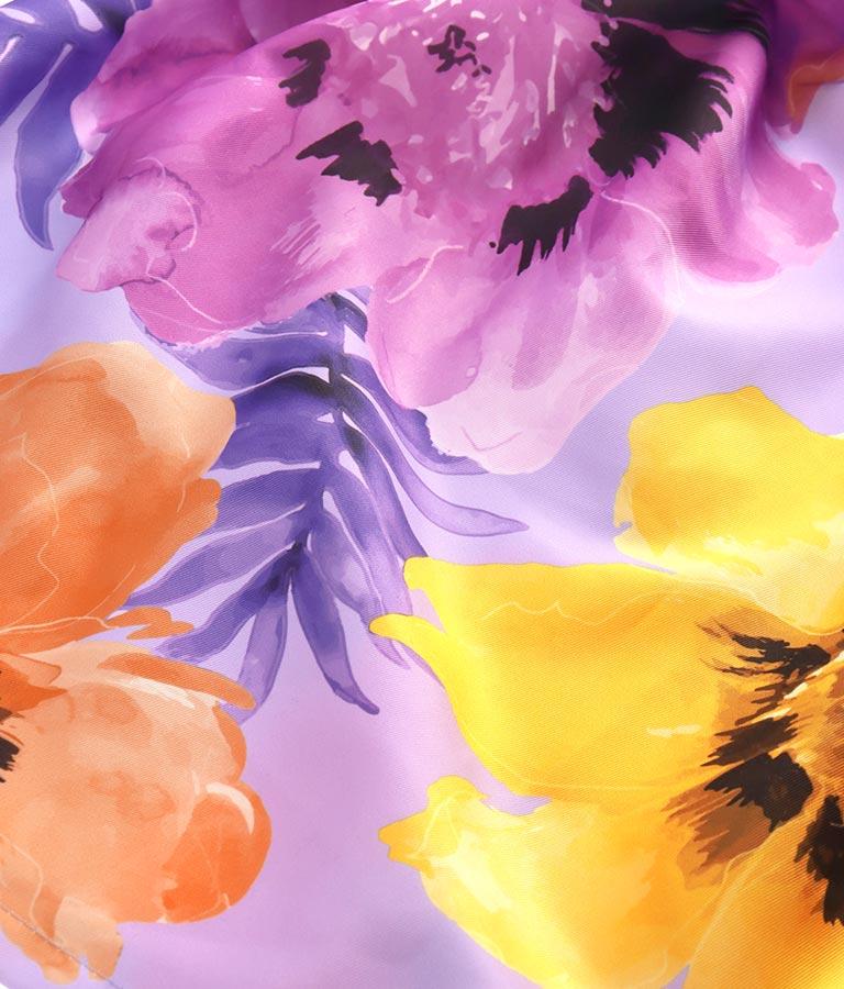 ヴィヴィッドカラーフラワープリントフレアスカート(ボトムス・パンツ /スカート) | Settimissimo