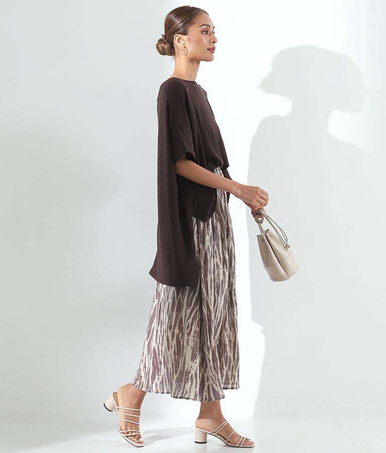 ブラープリントスカート(ボトムス・パンツ /スカート) | Alluge