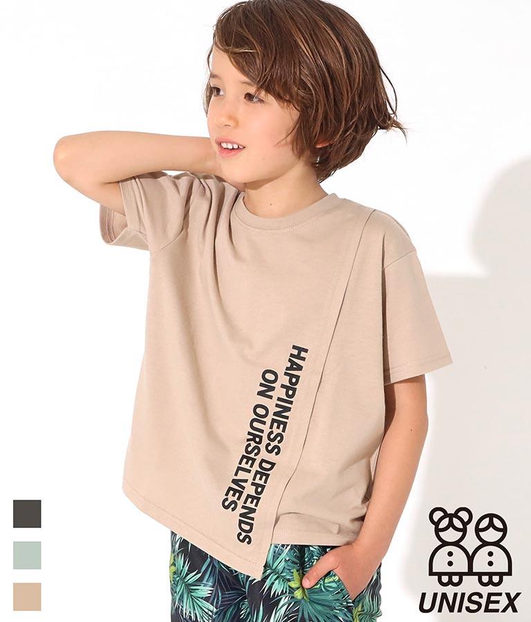フロント切替ビッグTシャツ(トップス/Tシャツ) | ANAP KIDS