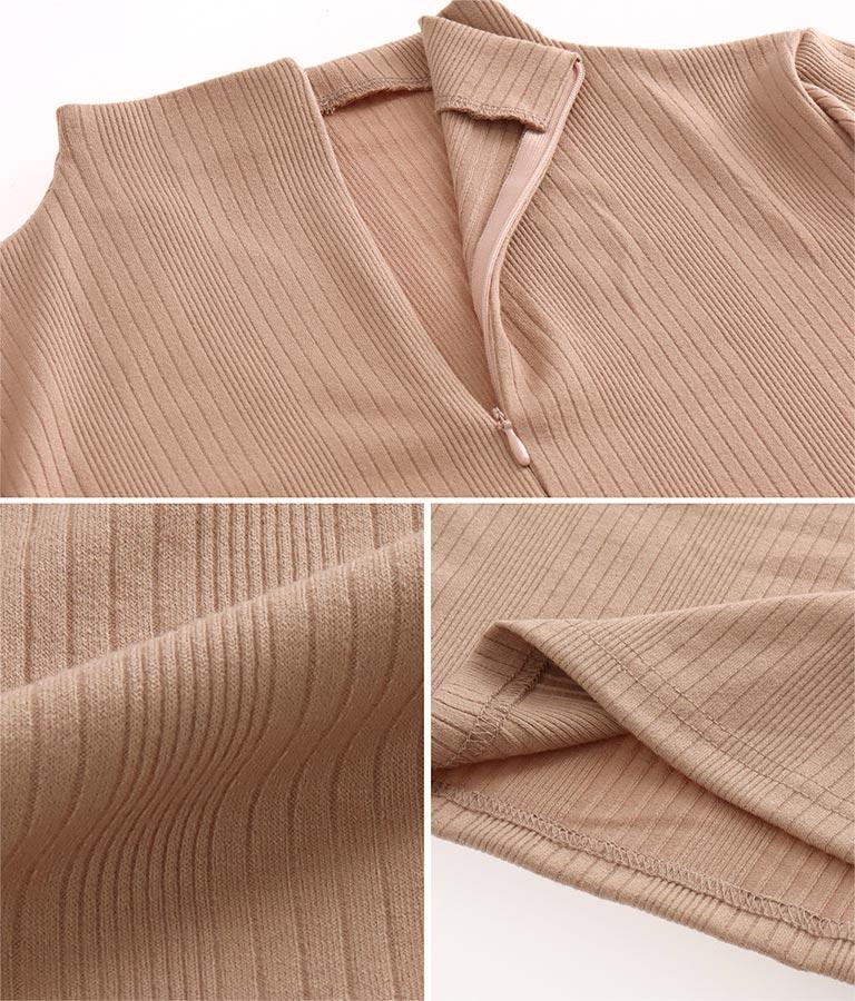 ランダムリブフィット&フレアワンピース(ワンピース・ドレス/ミニワンピ) | anap Latina