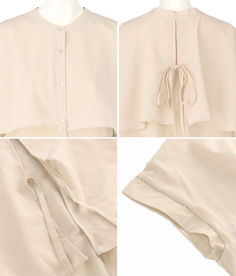 シアーローンアンブレラヨークシャツ(トップス/シャツ・ブラウス) | Alluge