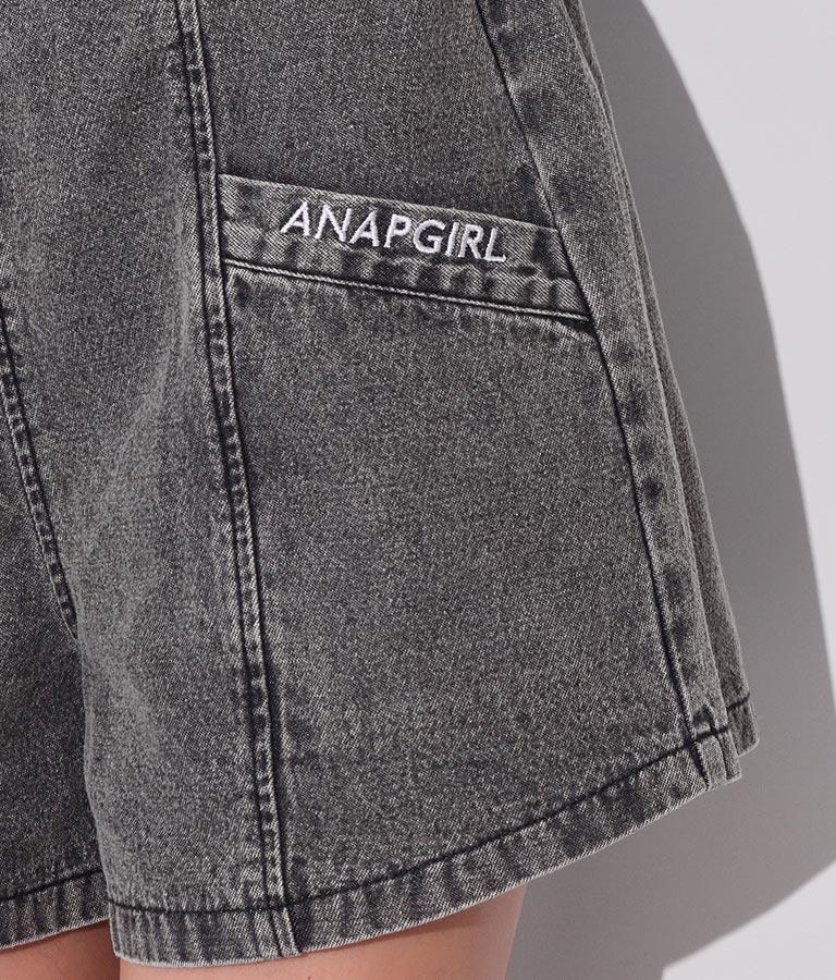 デニムキュロットパンツ(ボトムス・パンツ /ショートパンツ) | ANAP GiRL