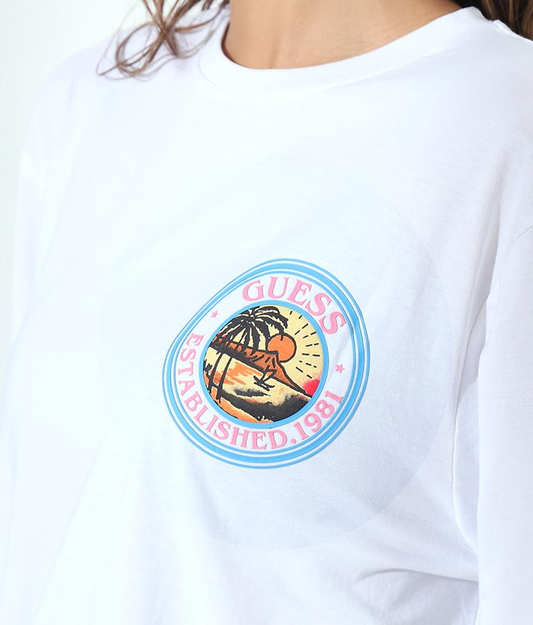 LS SAILOR TATTOO TEE(トップス/Tシャツ) | GUESS
