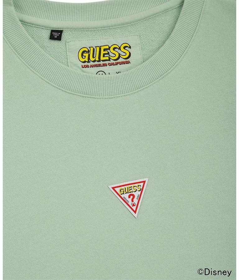 Small Triangle Logo Crew-Neck Sweat(トップス/スウェット・トレーナー)   GUESS