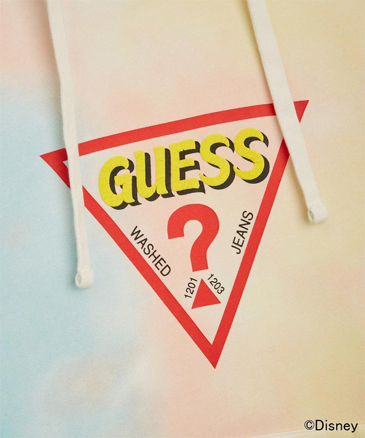 Triangle Logo Hooded Parka(トップス/スウェット・トレーナー) | GUESS