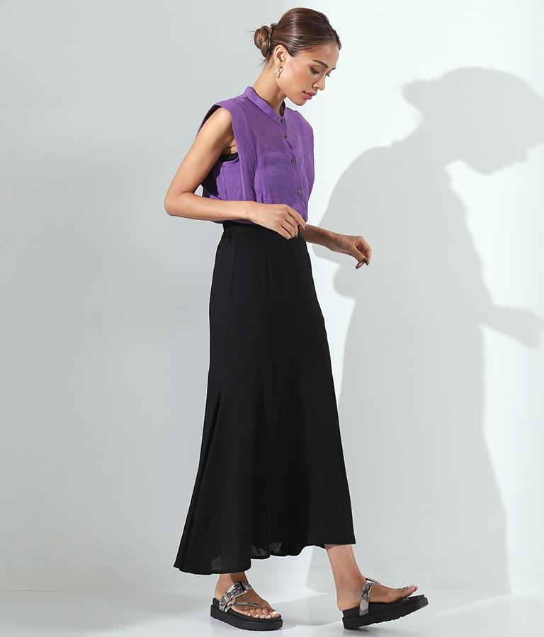 リネンライクマーメイドスカート(ボトムス・パンツ /スカート)   Alluge
