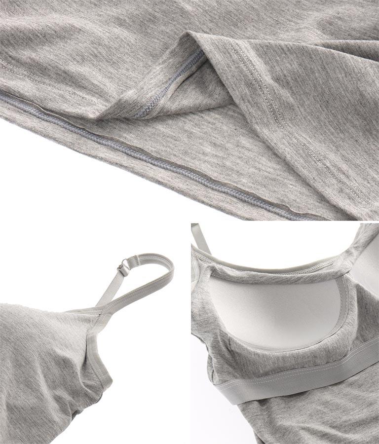 カップ付きショートキャミソール(トップス/ブラ・チューブ・ベアトップ) | anap mimpi