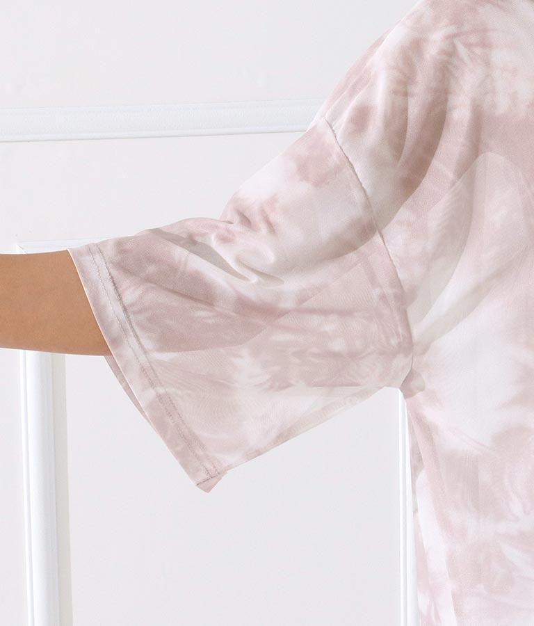 タイダイメッシュビッグシルエットTシャツ(トップス/Tシャツ)   anap Latina