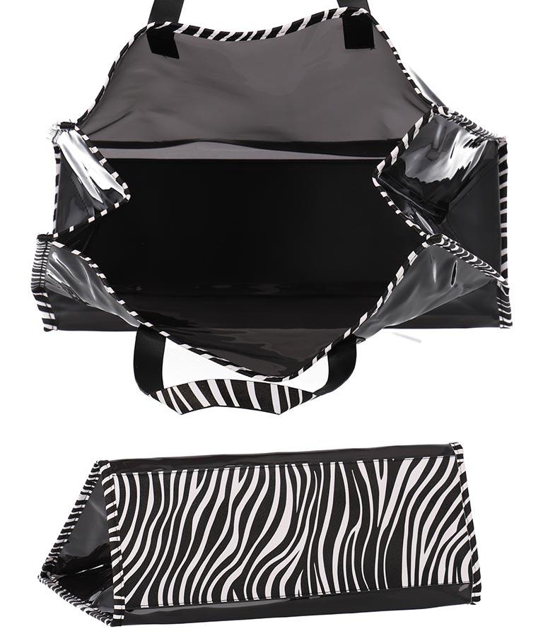 ポーチ付きゼブラ柄クリアバッグ(バッグ・鞄・小物/トートバッグ) | ANAP