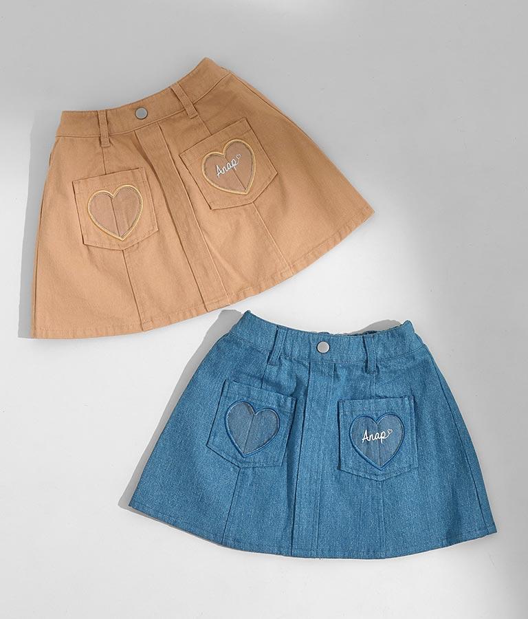 ハートクリアポケットスカート(ボトムス・パンツ /スカート)   ANAP KIDS