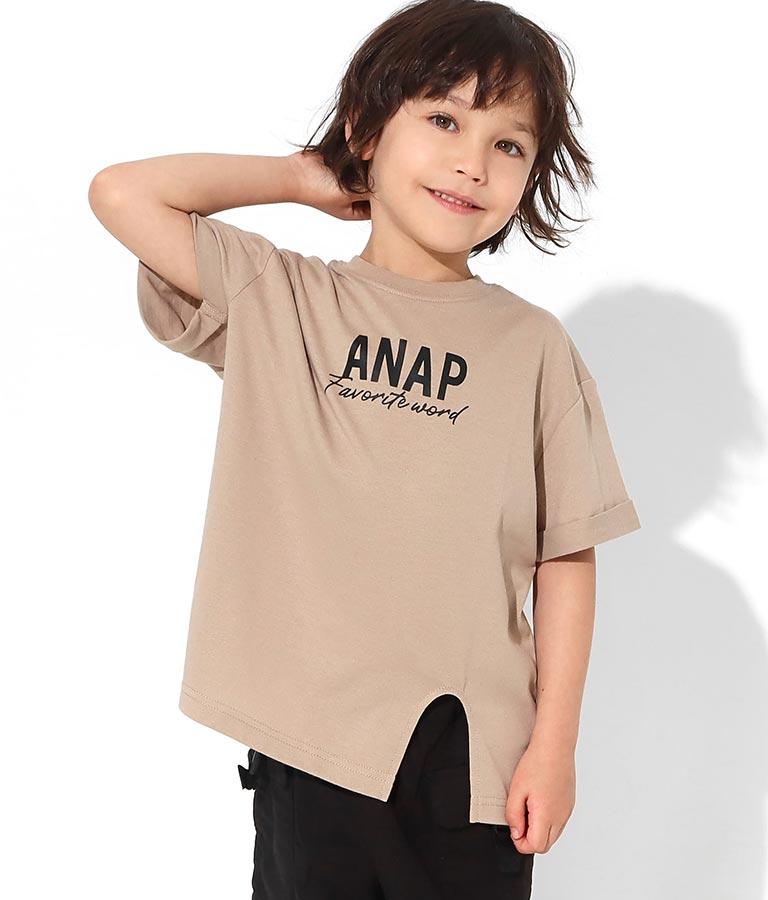 制菌加工スリット入りTシャツ(トップス/Tシャツ)   ANAP KIDS