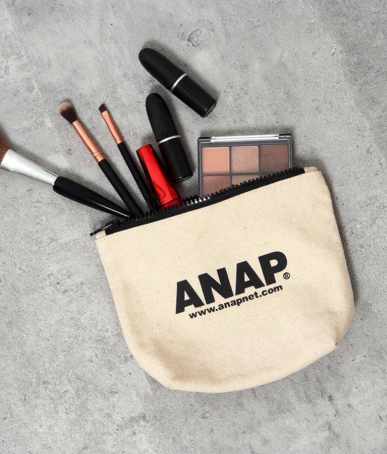 ANAPロゴキャンバスポーチ(ファッション雑貨/ポーチ)   ANAP