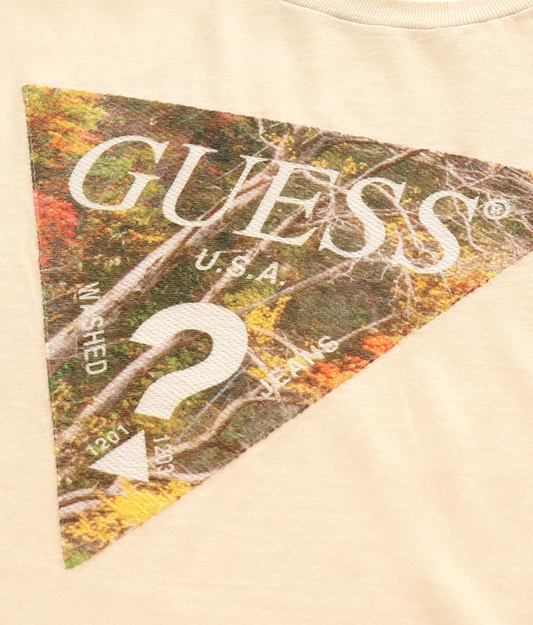 SS SCENIC TRIANGLE LOGO(トップス/Tシャツ) | GUESS