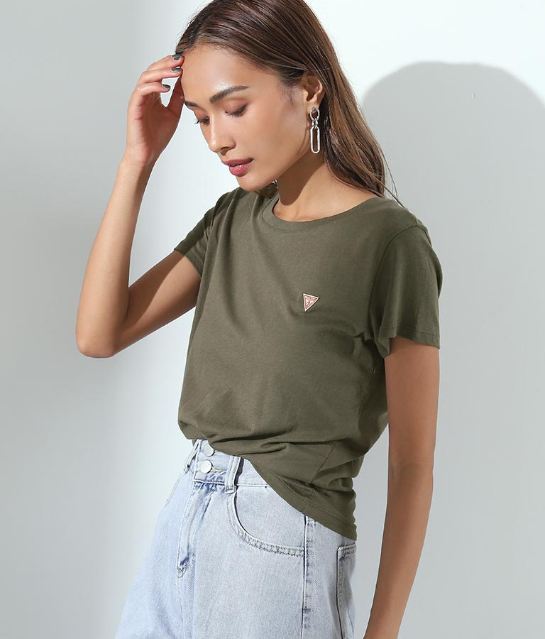 SS GUESS LOGO BABY TEE(トップス/Tシャツ) | GUESS