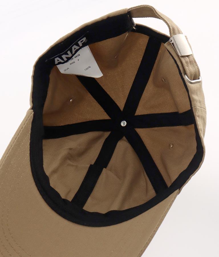 刺繍シンプルキャップ(ファッション雑貨/ハット・キャップ・ニット帽 ・キャスケット・ベレー帽)   ANAP