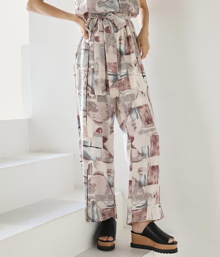 リボンベルト付きサロペット(ワンピース・ドレス/サロペット/オールインワン) | ANAP