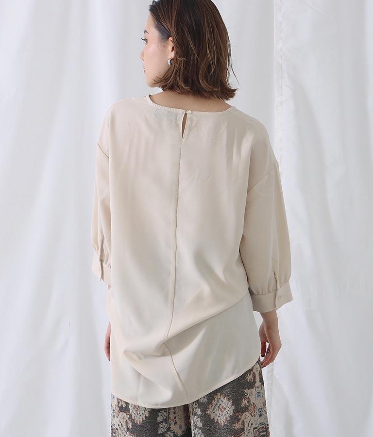 付け衿+ブラウス(トップス/シャツ・ブラウス) | Alluge