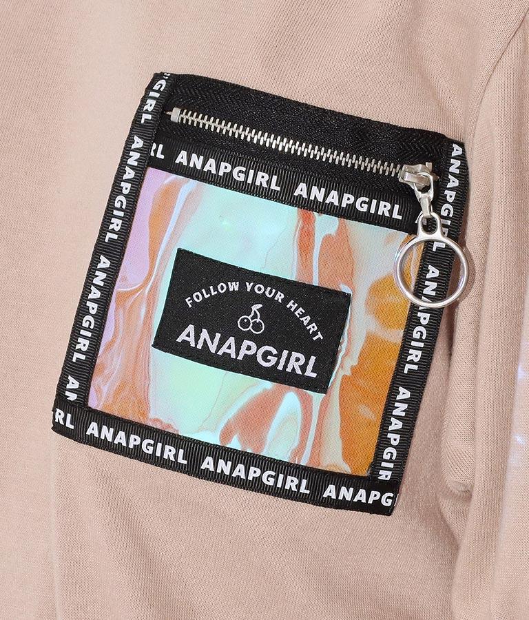 オーロラポケット付トップス(トップス/カットソー )   ANAP GiRL