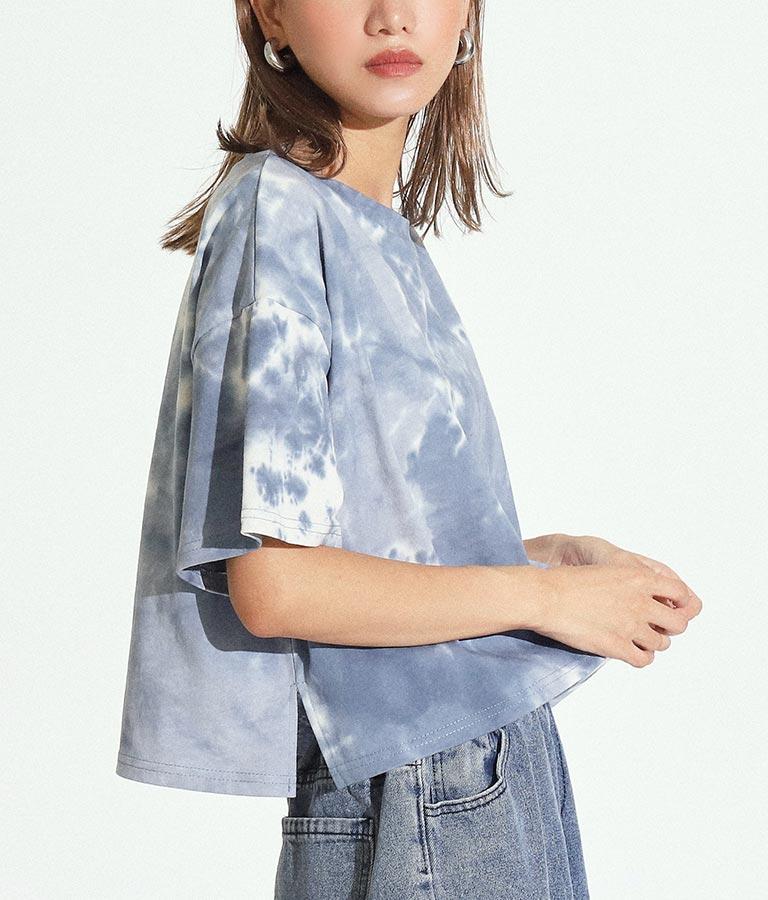 タイダイクロップドTシャツ(トップス/Tシャツ)   ANAP