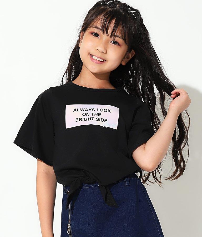 袖フレア前結びトップス(トップス/Tシャツ)   ANAP KIDS