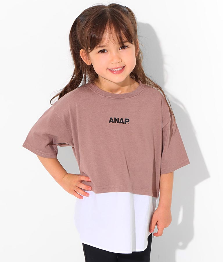 切替トップス(トップス/Tシャツ)   ANAP KIDS