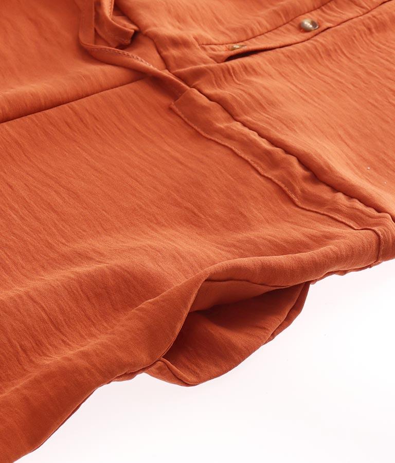 べっ甲ボタンポイントオールインワン(ワンピース・ドレス/サロペット/オールインワン) | CHILLE