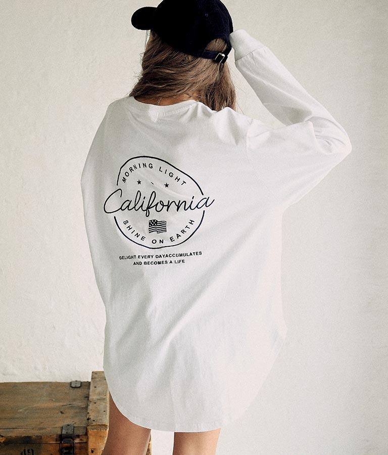 国旗刺繍ロングTシャツ(トップス/Tシャツ・カットソー )   anap mimpi