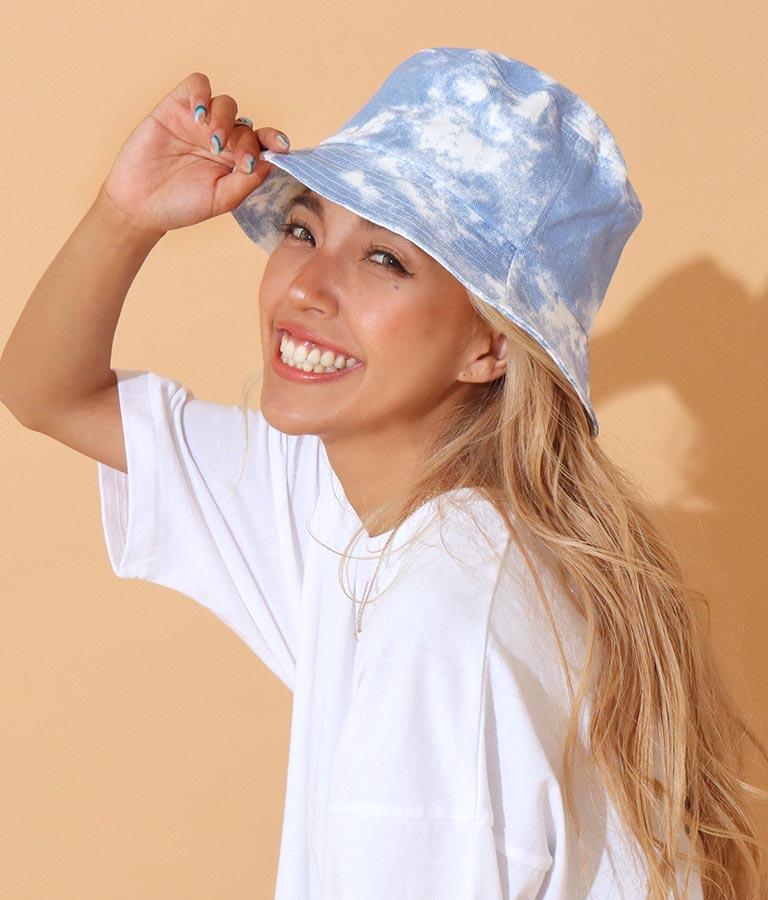 タイダイバケットハット(ファッション雑貨/ハット・キャップ・ニット帽 ・キャスケット・ベレー帽)   anap mimpi