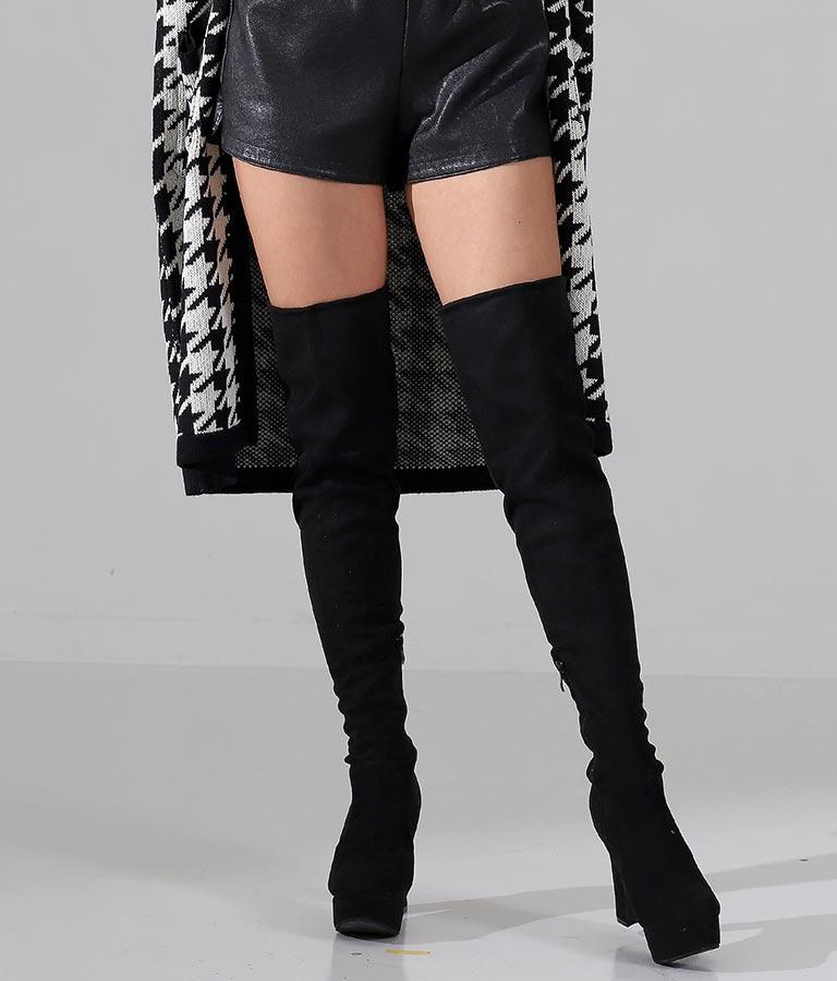 フェイクスエードニーハイブーツ(シューズ・靴/ブーツ) | anap Latina
