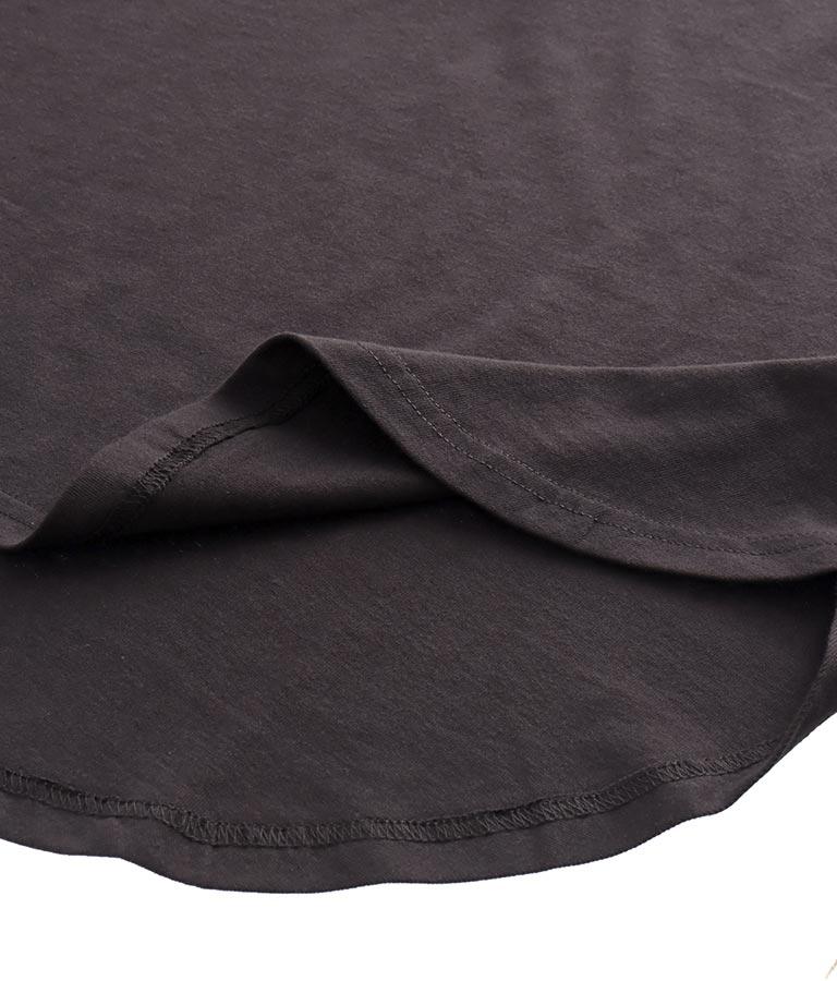 カラーオルテガ刺繍ビッグTシャツ(トップス/Tシャツ) | anap mimpi