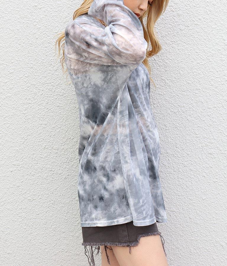 ムラ染メッシュロンT(トップス/Tシャツ) | ANAP