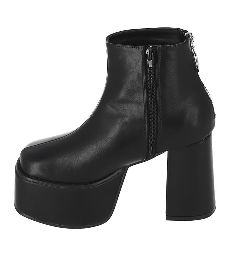 バックジップ厚底ブーツ(シューズ・靴/ブーツ) | ANAP