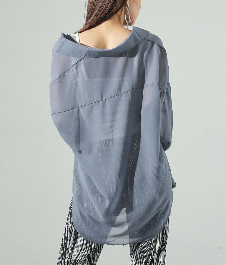 シアービッグシャツ(トップス/シャツ・ブラウス)   ANAP