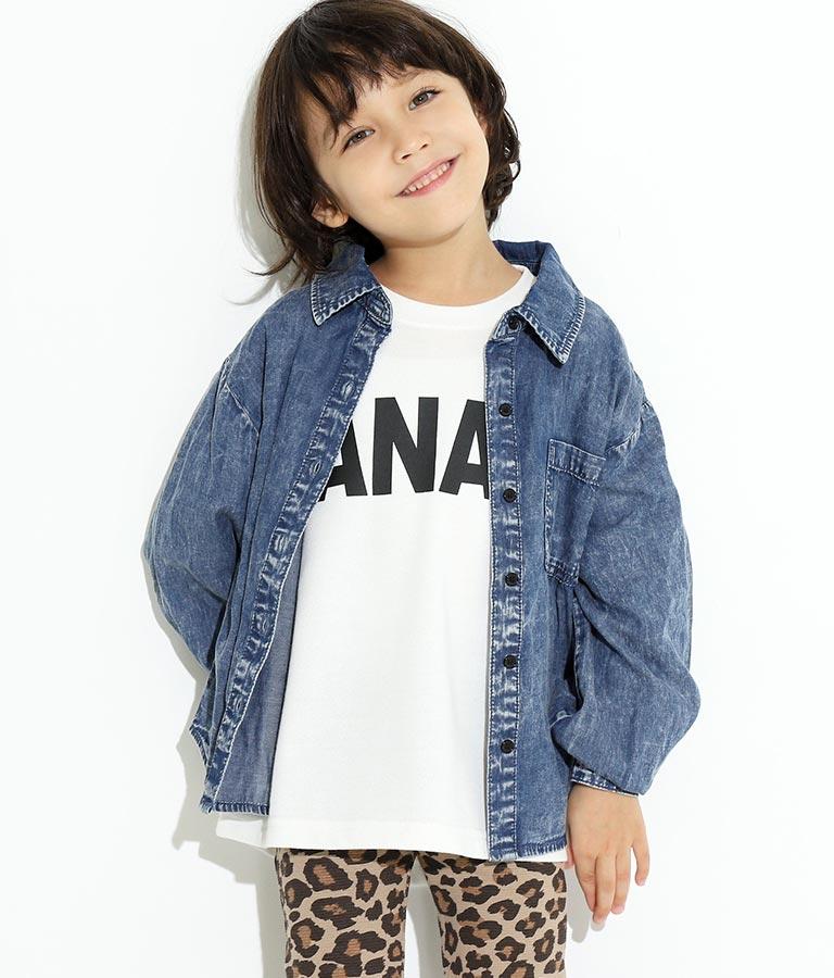 ケミカルデニムシャツ(トップス/シャツ・ブラウス)   ANAP KIDS