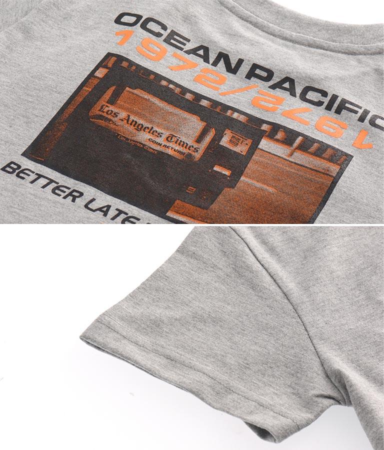 バックフォトプリントTシャツ(トップス/Tシャツ)   OP Ocean Pacific