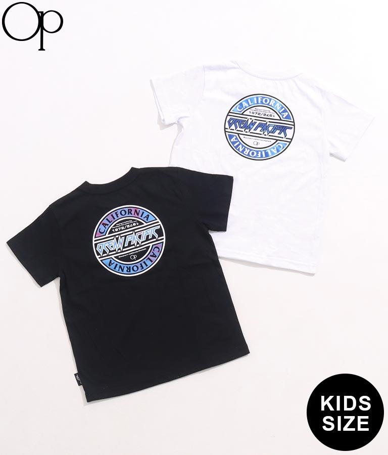 バックサークルロゴTシャツ