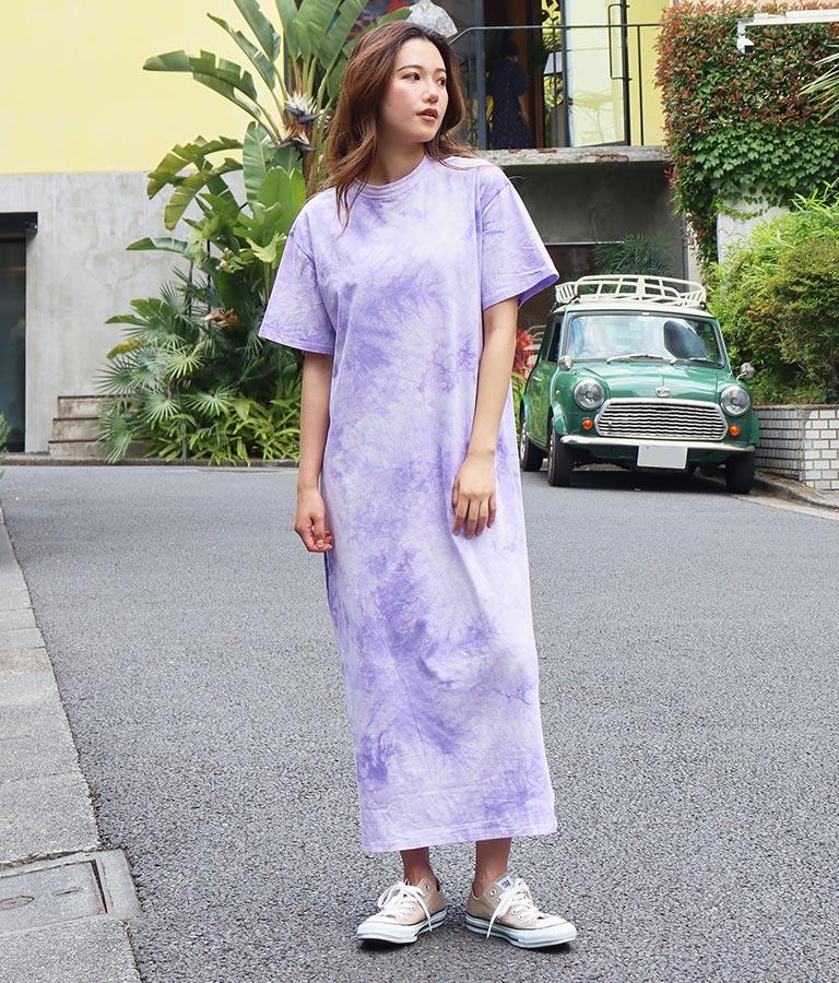 タイダイマキシワンピース(ワンピース・ドレス)   anap mimpi