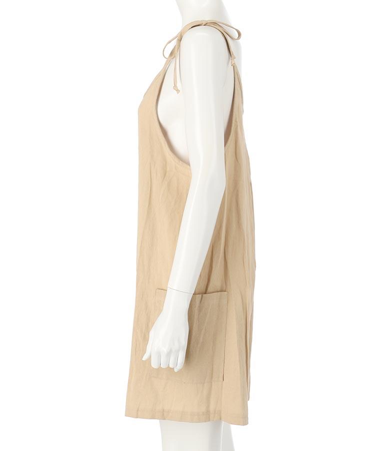 サイドポケット肩リボンショートオールインワン(ワンピース・ドレス/サロペット/オールインワン) | anap mimpi