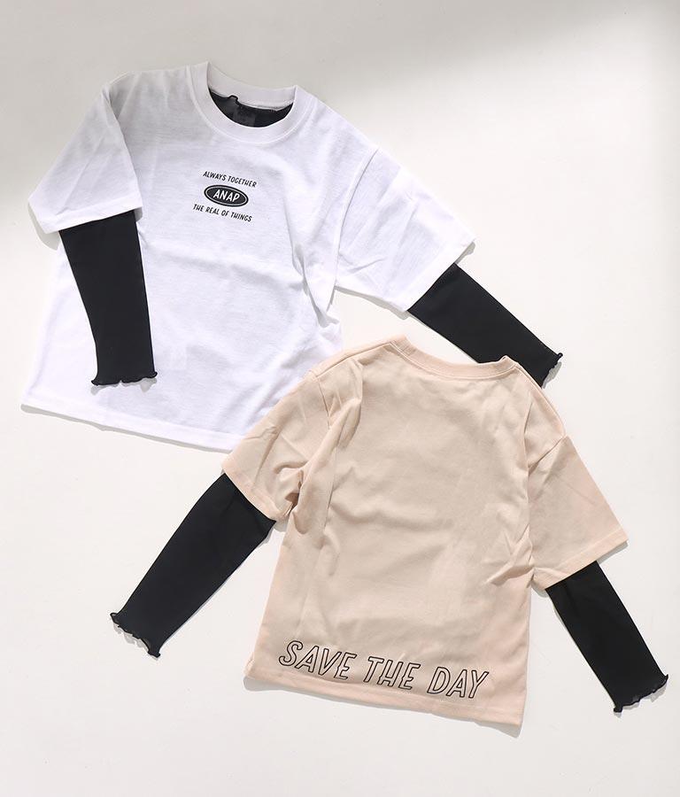 パワーネット×Tシャツセット(トップス/Tシャツ・カットソー )   ANAP KIDS