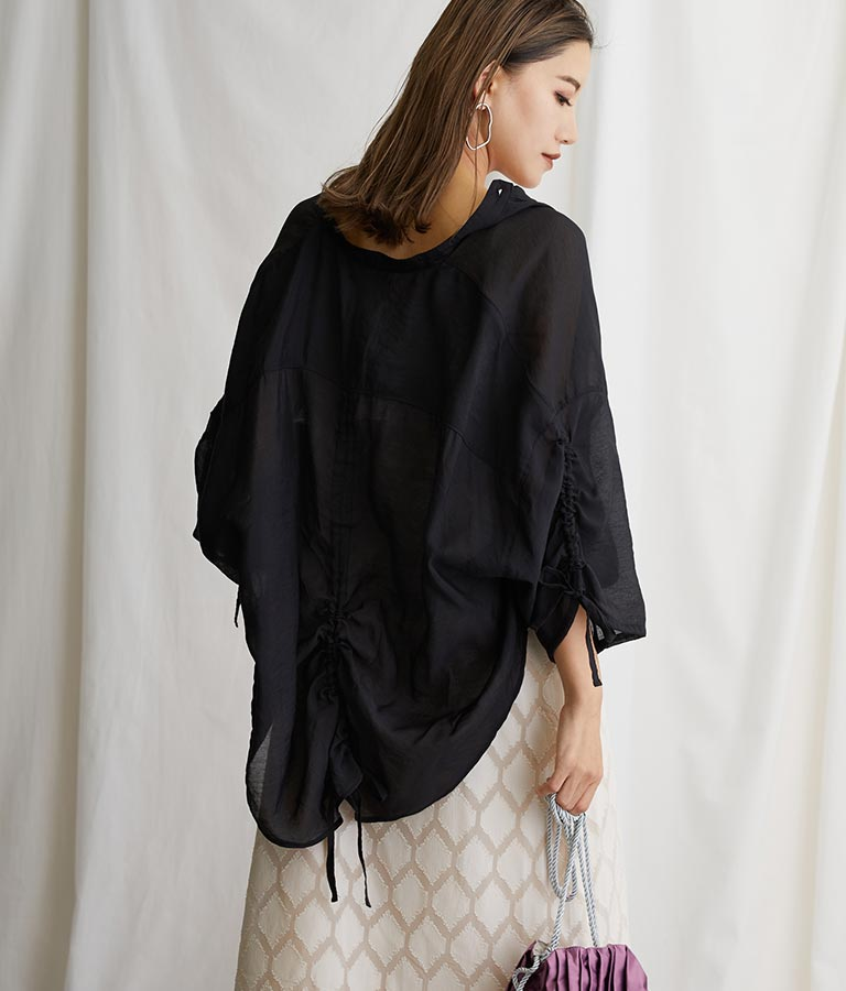 ドロストシアーシャツ(トップス/シャツ・ブラウス) | Alluge