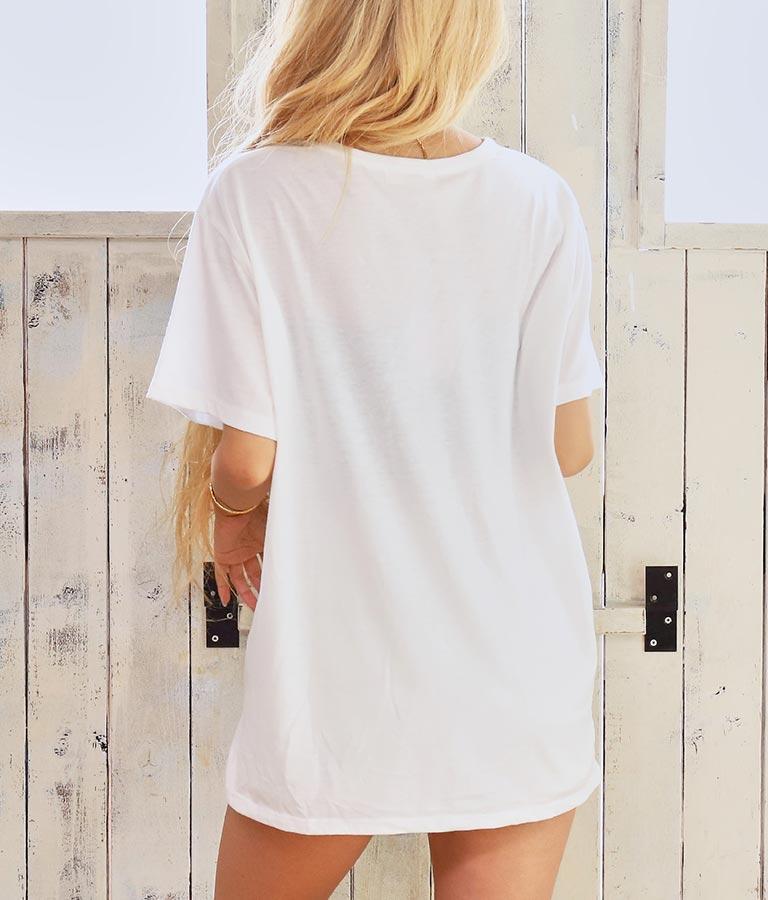 転写プリントポケットTシャツ(トップス/Tシャツ) | anap mimpi