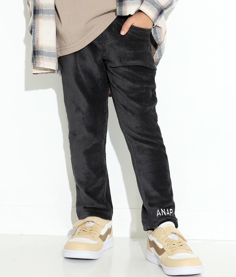 ストレッチコーデュロイ風パンツ(ボトムス・パンツ /ロングパンツ)   ANAP KIDS