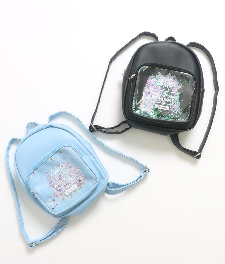 キラキラスパンコールリュック(バッグ・鞄・小物/バックパック・リュック)   ANAP KIDS