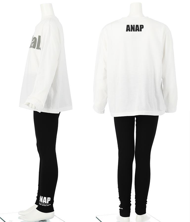 ビッグロンT+レギンスセット(トップス/Tシャツ) | ANAP KIDS