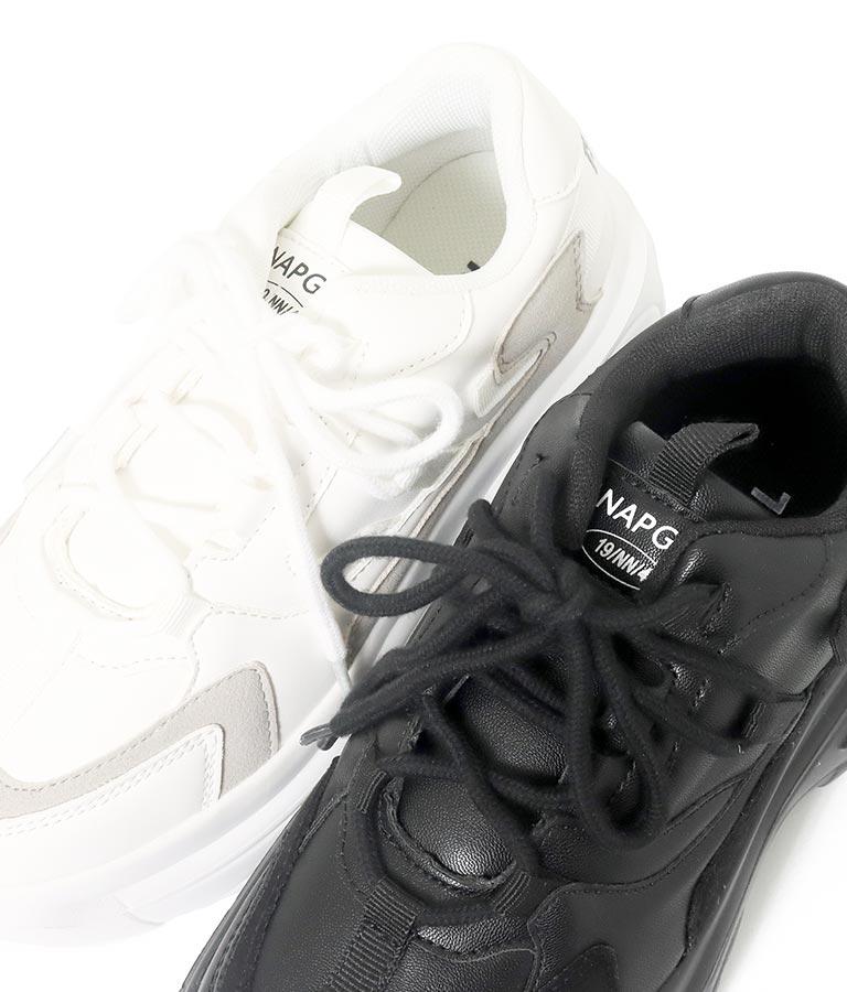 バックテープ付厚底スニーカー(シューズ・靴/スニーカー) | ANAP GiRL