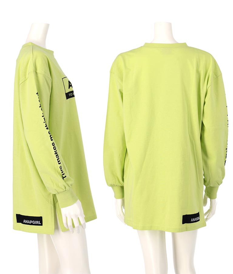 シンプルビッグロンT(トップス/Tシャツ・カットソー ) | ANAP GiRL