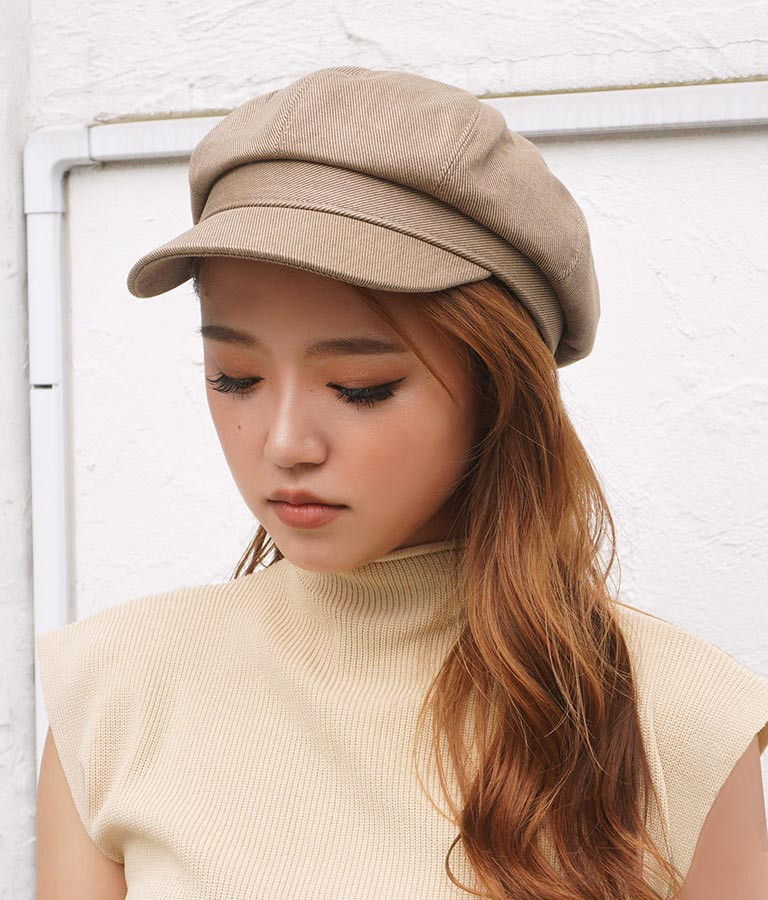 ブリーチカラーキャスケット(ファッション雑貨/ハット・キャップ・ニット帽 ・キャスケット・ベレー帽) | ANAP